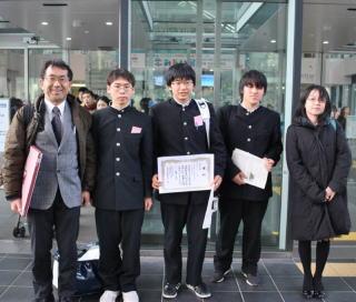 江南高等学校制服画像